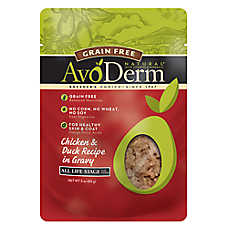 AvoDerm® Natural Cat Food - Grain Free, Chicken & Duck