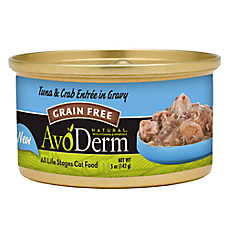 AvoDerm Natural Grain Free Tuna & Crab Cat Food