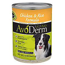 AvoDerm® Natural Dog Food - Chicken & Rice