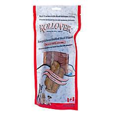 ROLLOVER™ Salmon Stuffed Beef Planks Large Dog Treat
