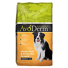 AvoDerm® Natural Adult Dog Food - Chicken Meal & Brown Rice