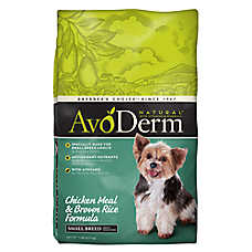 AvoDerm® Natural Small Breed Adult Dog Food - Chicken Meal & Brown Rice