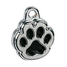 TagWorks® Paw Print Personalized Pet ID Tag