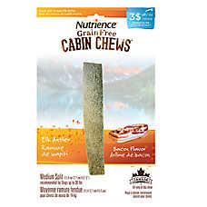 Nutrience® Cabin Chews Grain Free Bacon Medium Breed Split Elk Antler Dog Treat
