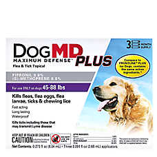 Dog MD™ Plus 45-88 Lb Dog Flea & Tick Treatment (Compare to FRONTLINE® Plus)