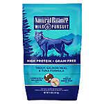 Natural Balance Wild Pursuit Dog Food - High Protein, Grain Free, Trout, Salmon Meal & Tuna
