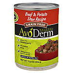 AvoDerm Natural Grain Free Beef & Potato Stew Puppy & Adult Dog Food