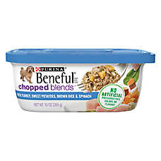 Purina® Beneful® Chopped Blends Dog Food - Turkey, Sweet Potatoes & Brown Rice