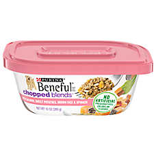 Purina® Beneful® Chopped Blends™ Salmon, Sweet Potatoes, Brown Rice & Spinach Dog Food