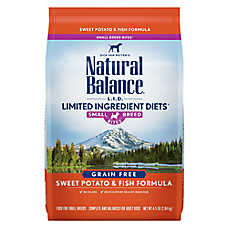 Natural Balance Limited Ingredient Diets Dog Food - Grain Free, Sweet Potato & Fish, Small Breed