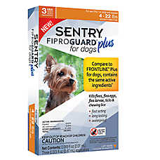 SENTRY® Fiproguard® Plus 6.5-22 Lb Flea & Tick Treatment (Compare to FRONTLINE® Plus)