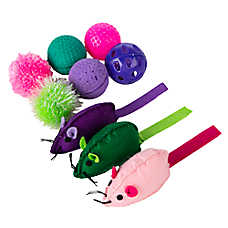 Grreat Choice™ Ball & Mice Value Pack Cat Toy