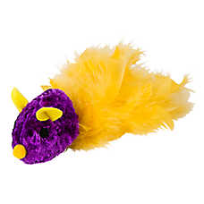 Grreat Choice™ Feather Tail Mouse Cat Toy