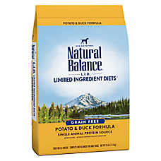 Natural Balance Limited Ingredient Diets Dog Food - Grain Free, Potato & Duck
