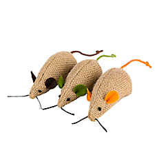 National Geographic™ 3-Pack Mice Cat Toy