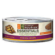 Simply Nourish™ Essentials Kitten Food - Natural, Chicken, Pate