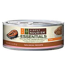 Simply Nourish™ Essentials Adult Cat Food - Natural, Salmon, Pate