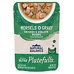 Natural Balance Platefulls Adult Cat Food - Grain Free, Tuna & Beef