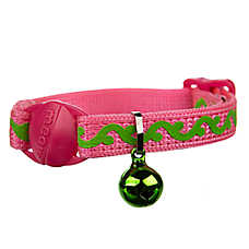 Whisker City™ Vine Kitten Collar - Glow in the Dark