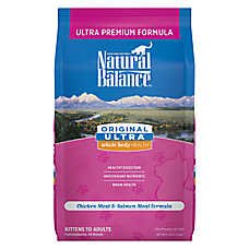 Natural Balance Original Ultra Whole Body Health Cat Food - Gluten Free, Chicken Meal & Salmon Meal