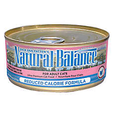 Natural Balance Reduced Calorie Formula Adult Cat Food