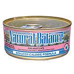 Natural Balance Reduced Calorie Formula Adult Cat Food