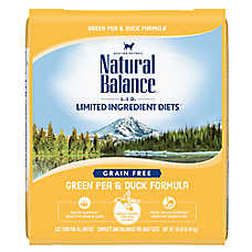 Natural Balance Limited Ingredient Diets Cat Food - Grain Free, Green Pea & Duck