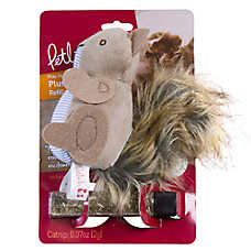 Petlinks® Plush Player™ Squirrel Cat Toy - Catnip