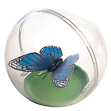 National Geographic™ Fluttering Butterfly Ball Cat Toy