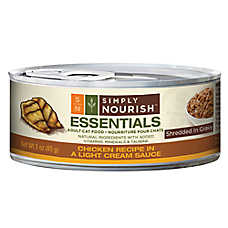 Simply Nourish™ Essentials Adult Cat Food - Natural, Chicken, Shredded