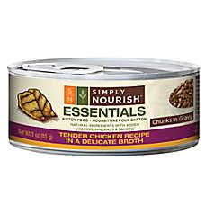 Simply Nourish™ Essentials Kitten Food - Natural, Chicken