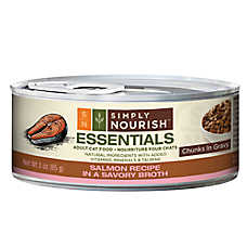 Simply Nourish™ Essentials Adult Cat Food - Natural, Salmon