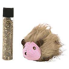 Petlinks® Plush Player™ Hedgehog Cat Toy - Catnip