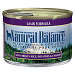 Natural Balance Ultra Premium Dog Food - Lamb
