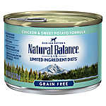 Natural Balance Limited Ingredient Diets Dog Food - Grain Free, Chicken & Sweet Potato