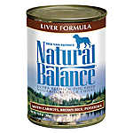 Natural Balance Ultra Premium Dog Food - Liver