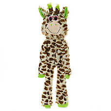 Grreat Choice® Giraffe Dog Toy - Stuffing-Free, Crinkle, Squeaker