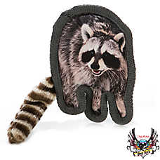 Bret Michaels Pets Rock™ Critter Raccoon Dog Toy - Squeaker