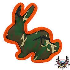 Bret Michaels Pets Rock™ Camo Ballastic Rabbit Dog Toy - Squeaker