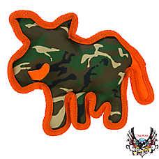 Bret Michaels Pets Rock™ Camo Ballastic Boar Dog Toy - Squeaker