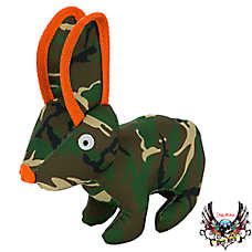 Bret Michaels Pets Rock™ Camo Ballastic Rabbit Dog Toy - Squeaker