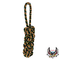 Bret Michaels Pets Rock™ Camo Rope Retreiver Dog Toy