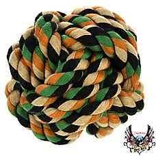 Bret Michaels Pets Rock™ Camo Monkey Fist Ball Dog Toy
