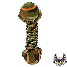 Bret Michaels Pets Rock™ Camo Dumbbell Dog Toy