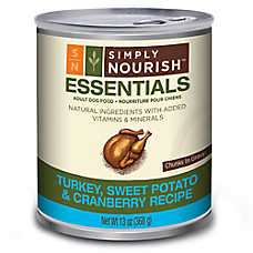 Simply Nourish™ Essentials Adult Dog Food - Natural, Turkey, Sweet Potato & Cranberry
