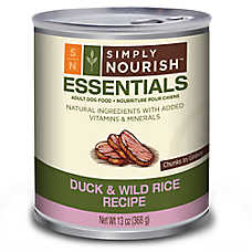 Simply Nourish™ Essentials Adult Dog Food - Natural, Duck & Wild Rice