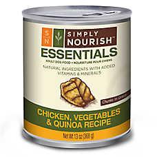 Simply Nourish™ Essentials Adult Dog Food - Natural, Chicken, Vegetables & Quinoa