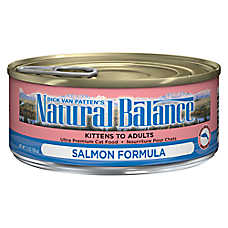Natural Balance Ultra Premium Cat Food - Salmon