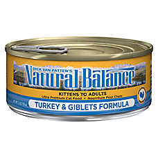 Natural Balance Ultra Premium Cat Food - Turkey & Giblets