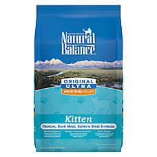 Natural Balance Original Ultra Whole Body Health Kitten Food - Gluten Free, Chicken, Duck & Salmon